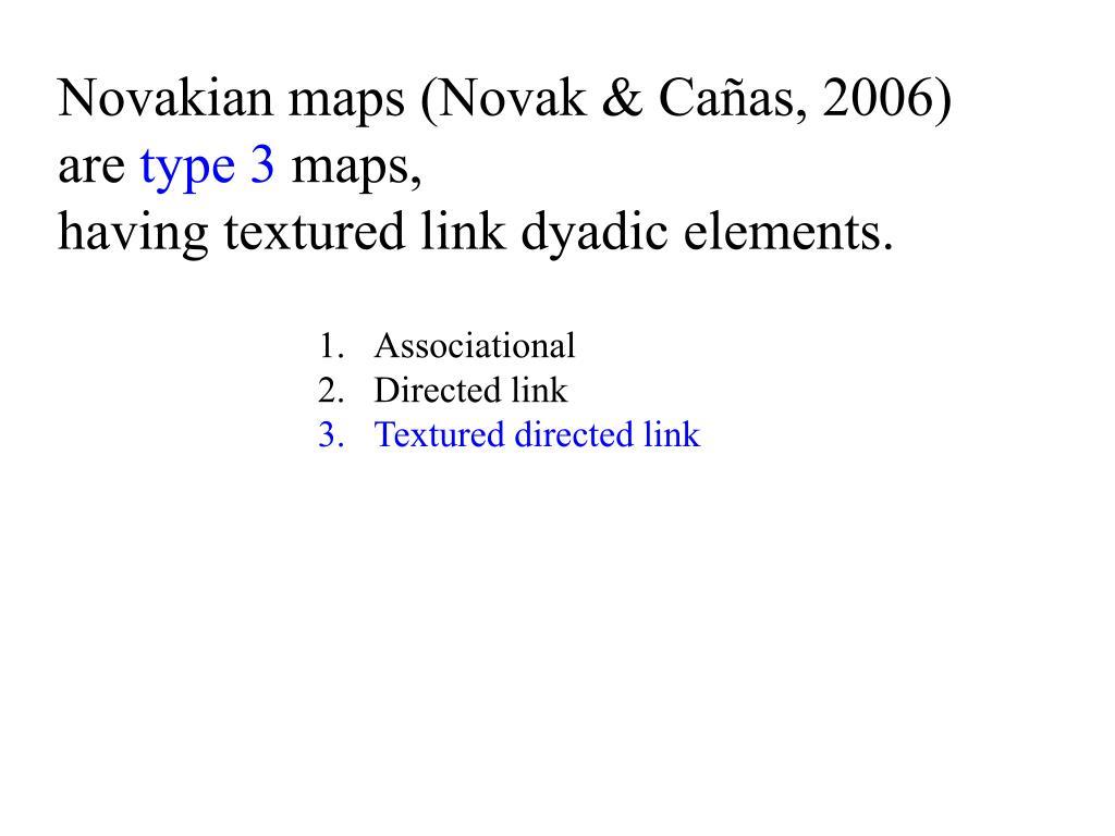 Novakian maps (Novak & Cañas, 2006)