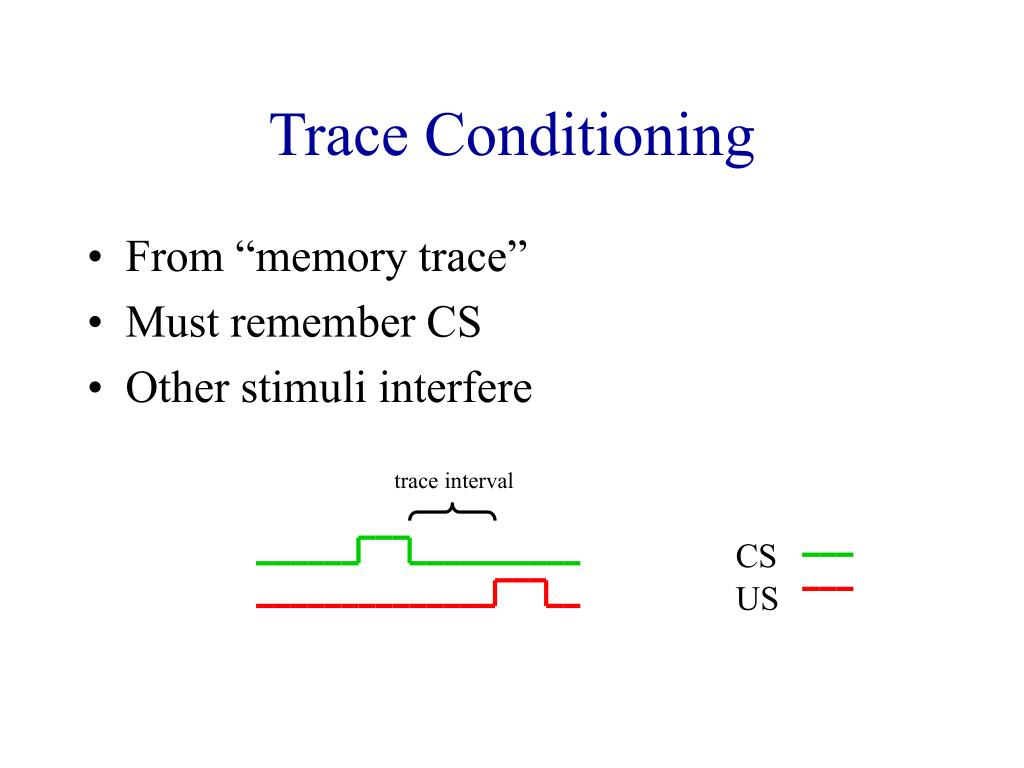 trace interval