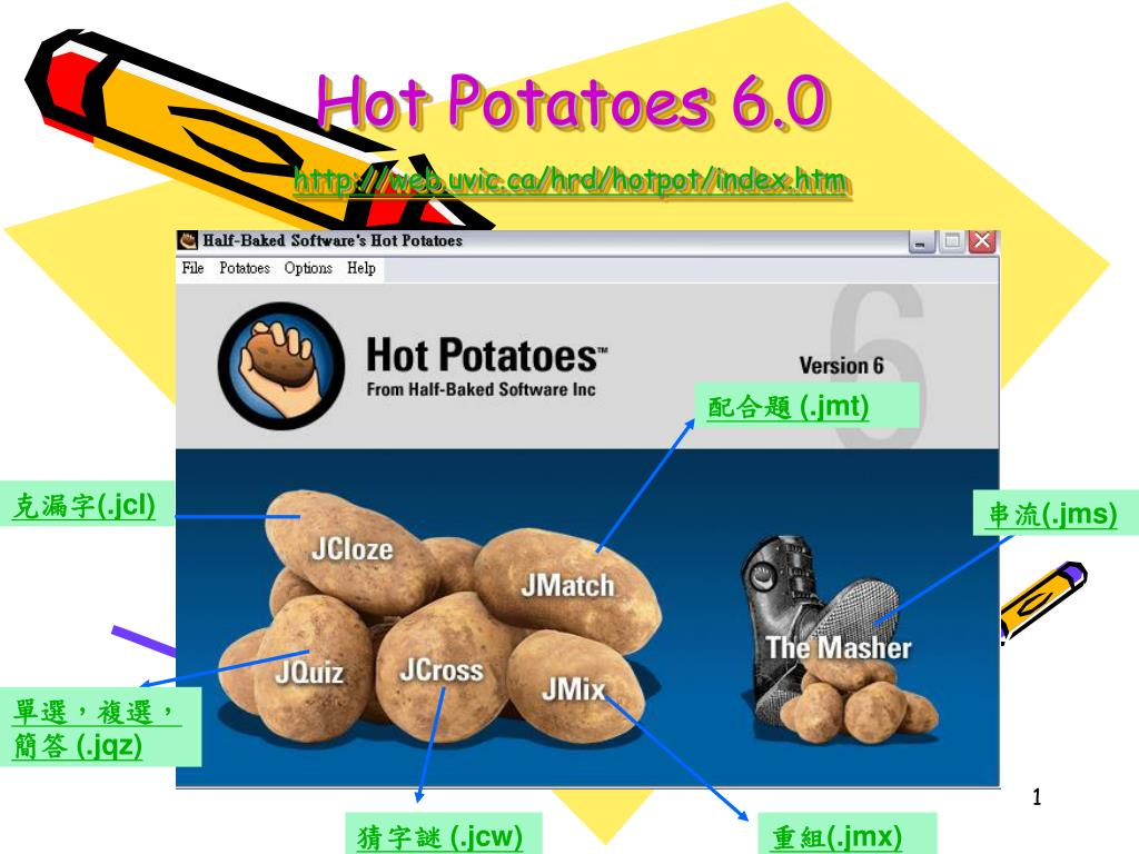 hot potatoes 6 0 http web uvic ca hrd hotpot index htm