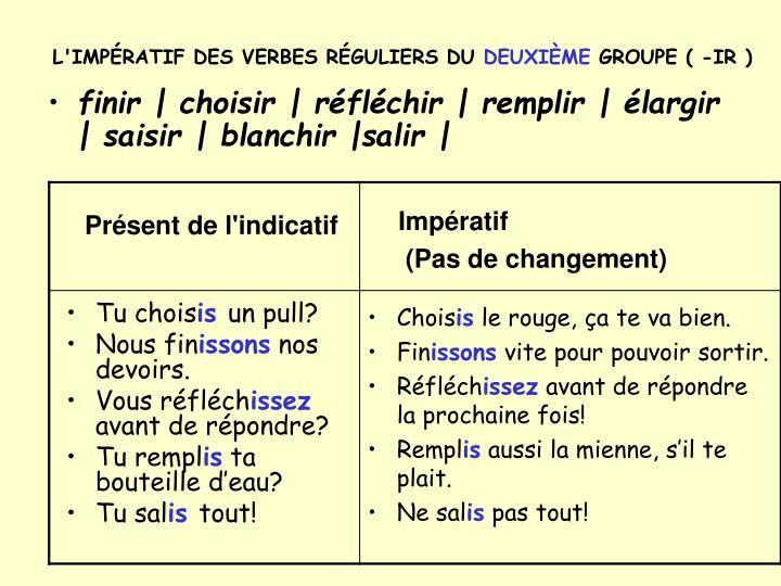 imperatif du verbe essayer Le verbe essayer est un verbe du 1 er groupe il est très fréquemment employé en conjugaison le verbe essayer possède la conjugaison des verbes en : -ayer le verbe essayer se conjugue avec l'auxiliaire avoir le verbe essayer est de type transitif direct.