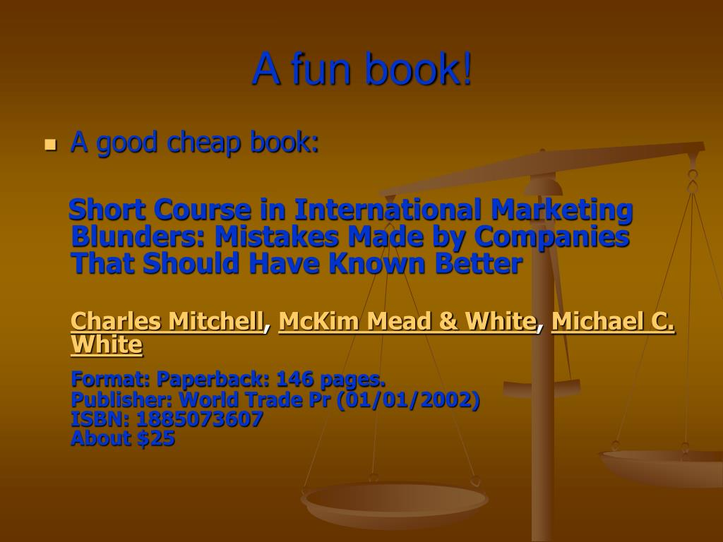 A fun book!