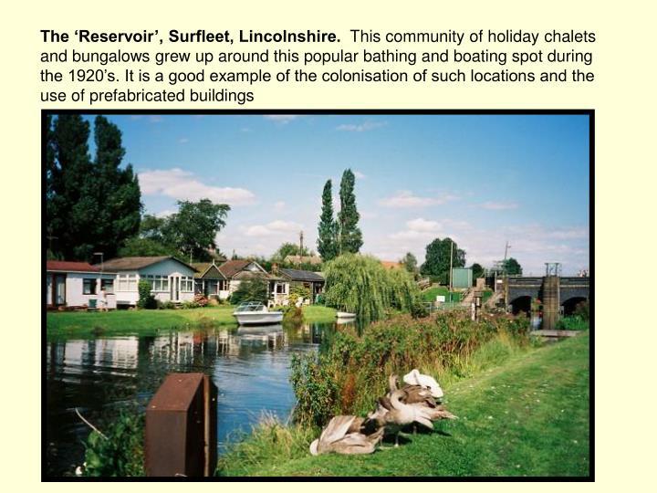 The 'Reservoir', Surfleet, Lincolnshire.