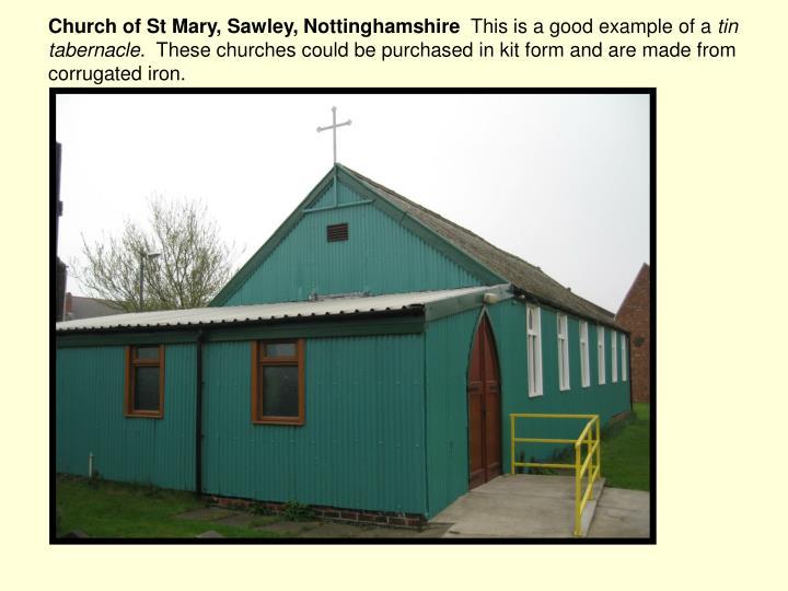 Church of St Mary, Sawley, Nottinghamshire
