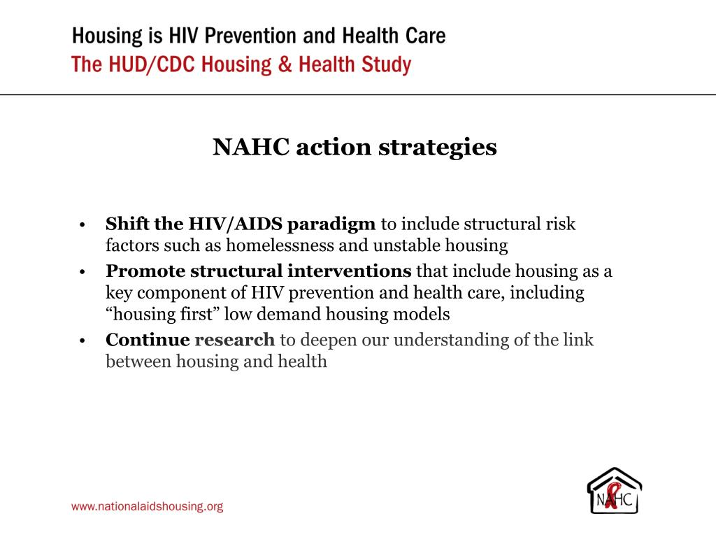 NAHC action strategies
