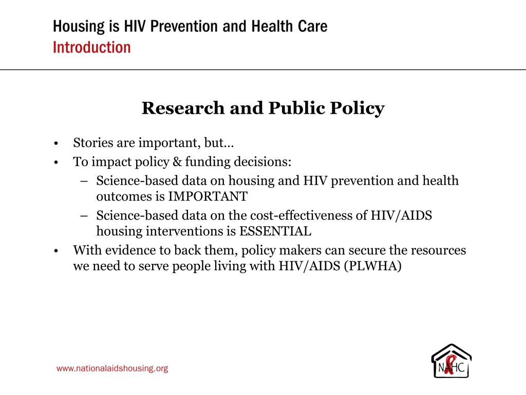 Research and Public Policy