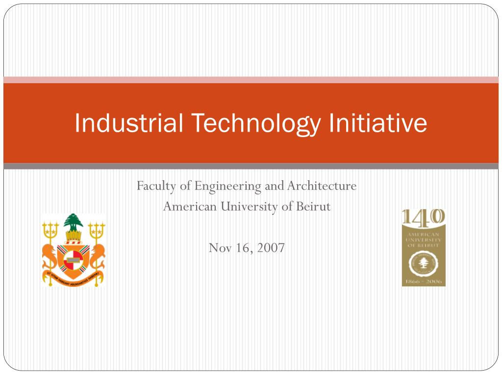 industrial technology initiative l.