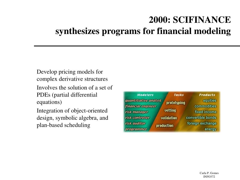 2000: SCIFINANCE