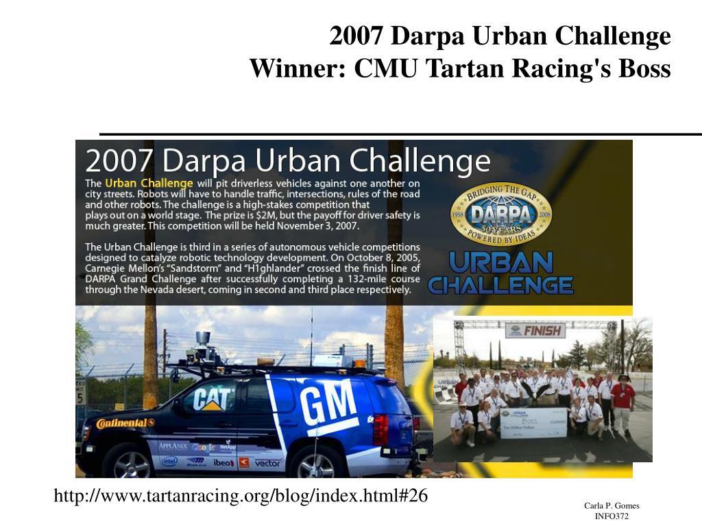 2007 Darpa Urban Challenge