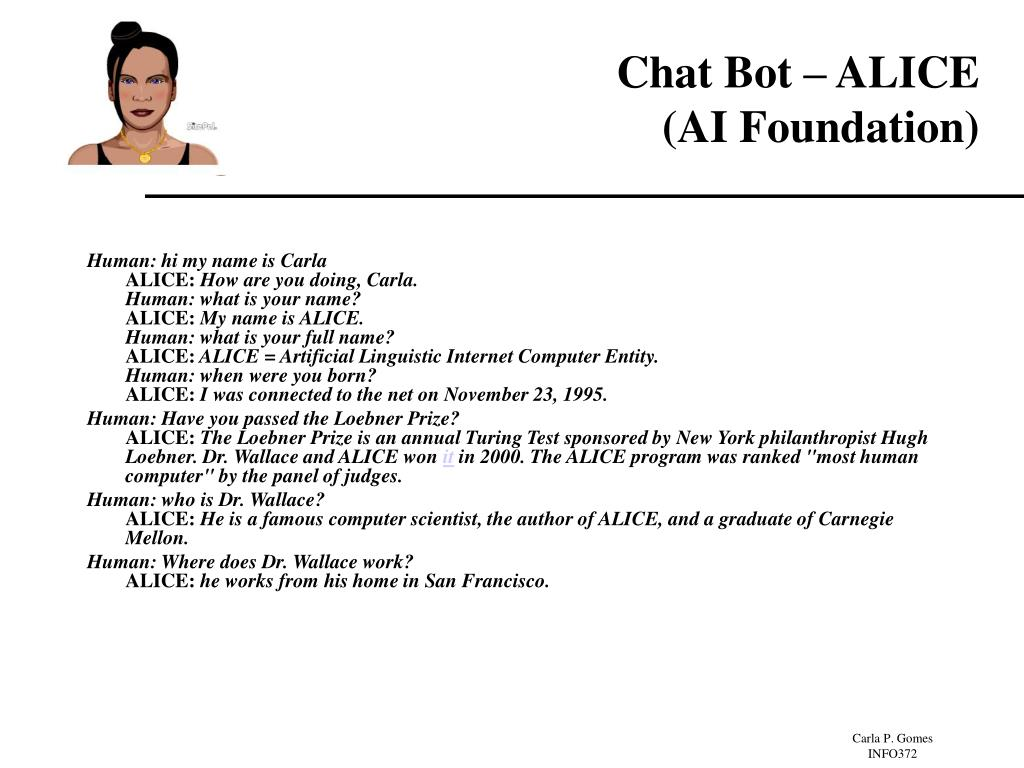 Chat Bot – ALICE