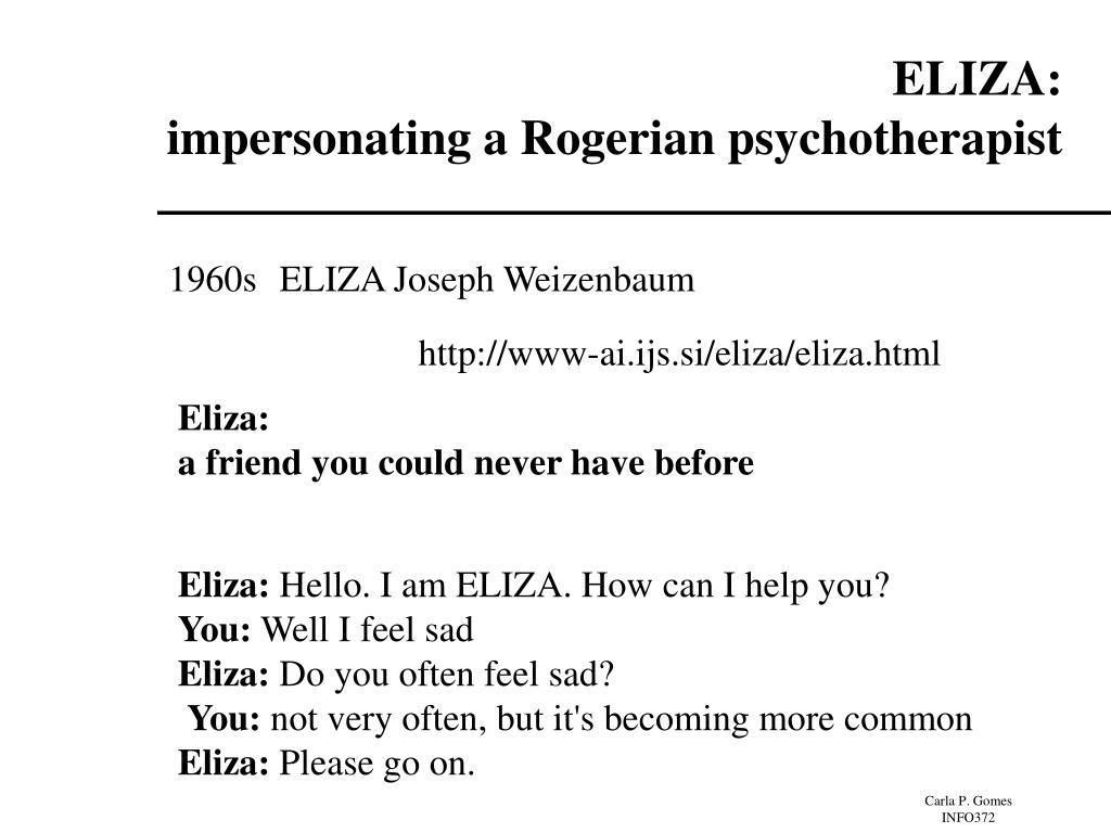 ELIZA: