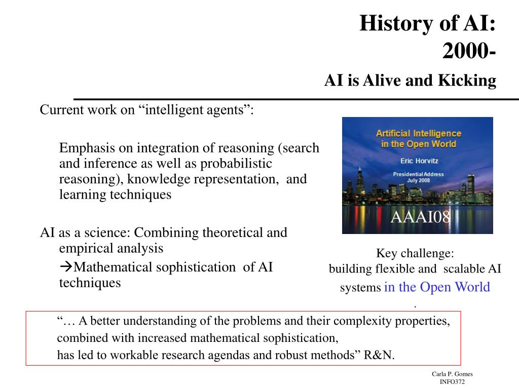 History of AI: