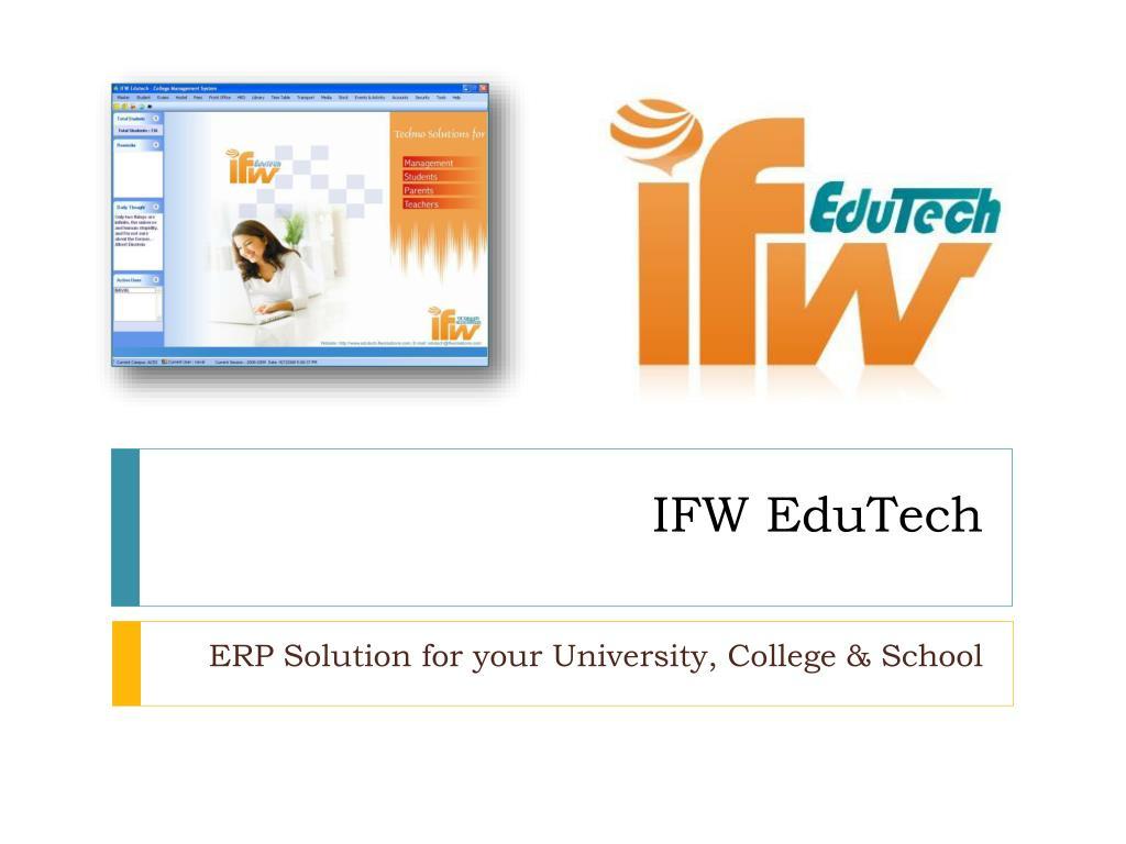 ifw edutech l.