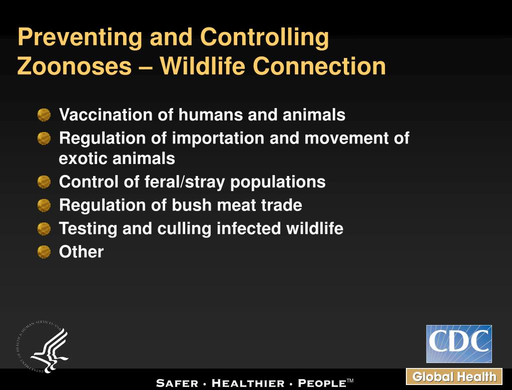 Preventing and Controlling Zoonoses – Wildlife Connection
