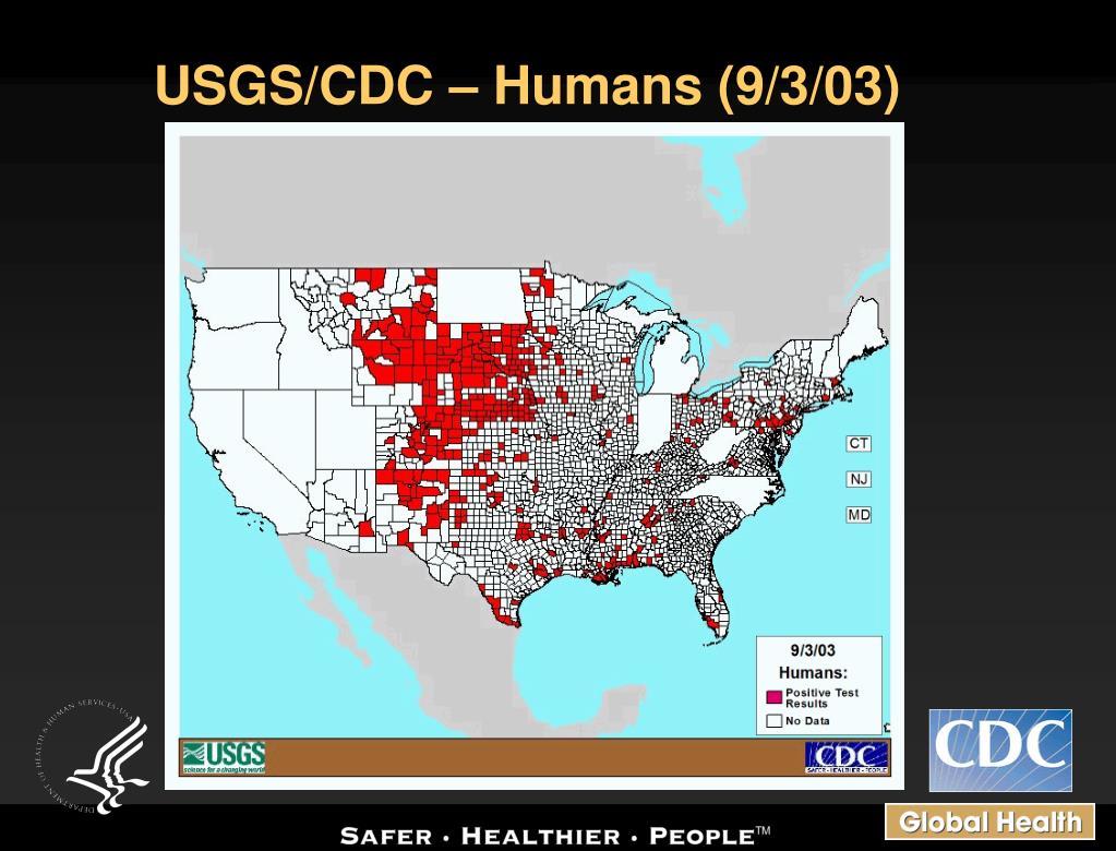 USGS/CDC – Humans (9/3/03)