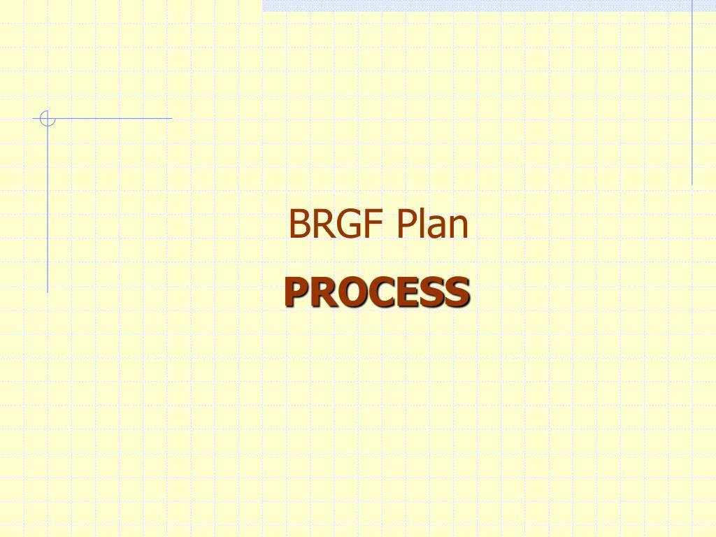 BRGF Plan