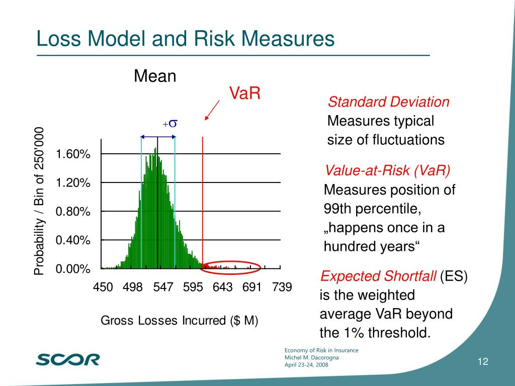 Loss Model and Risk Measures
