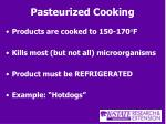 pasteurized cooking