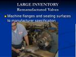 large inventory remanufactured valves11