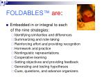 foldables are2