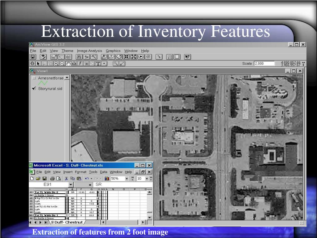 Extraction of Inventory Features