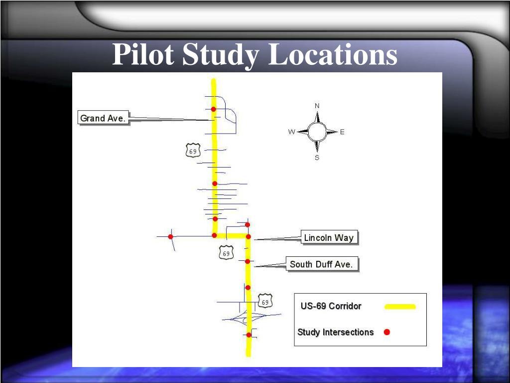Pilot Study Locations