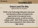 project lead the way opportunities for students