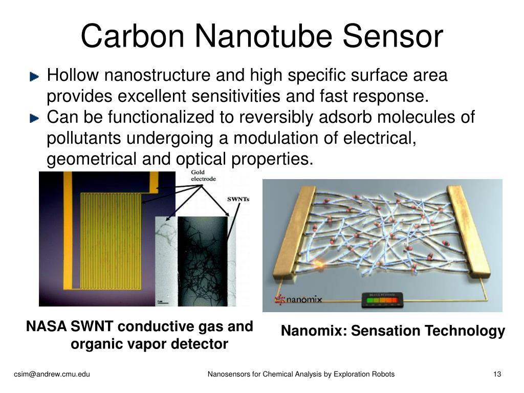 Carbon Nanotube Sensor