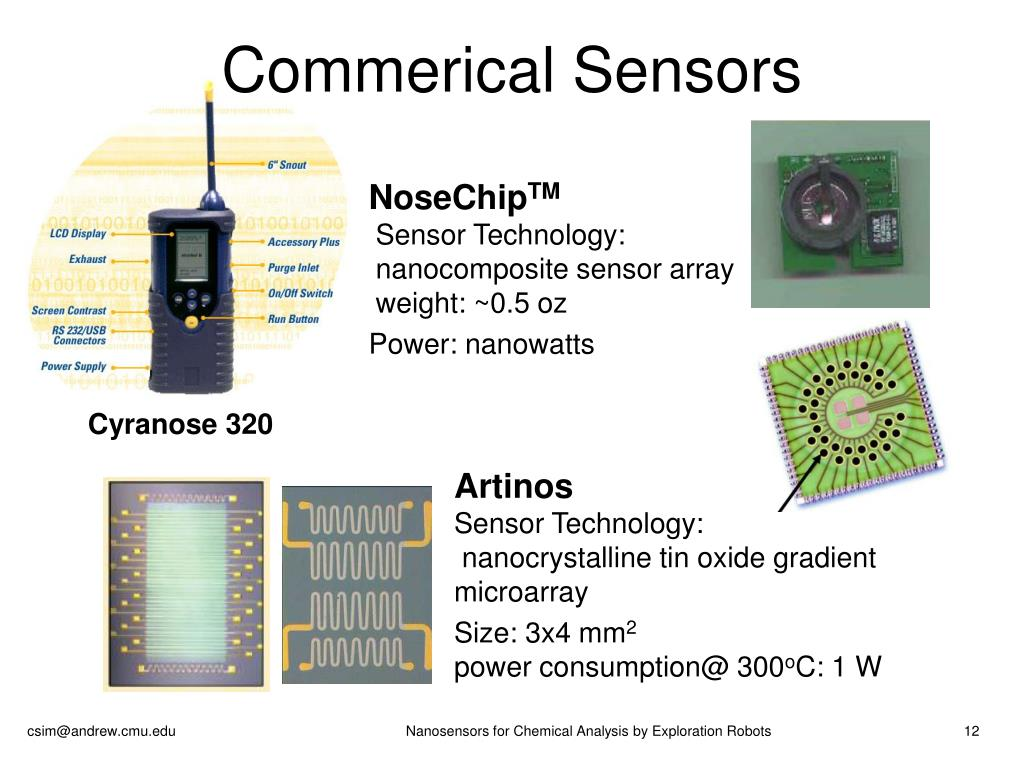 Commerical Sensors