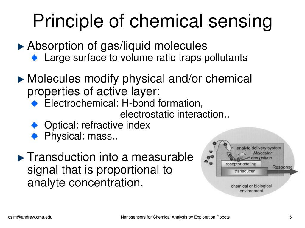 Principle of chemical sensing