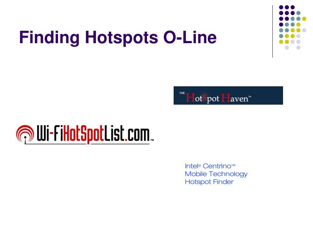 Finding Hotspots O-Line