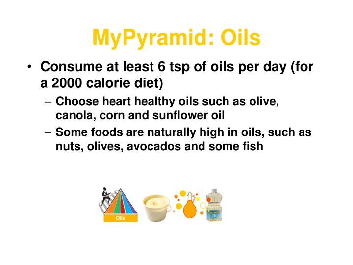 MyPyramid: Oils