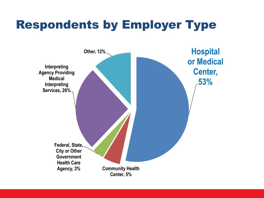 Respondents by Employer Type