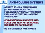 anti fouling systems17