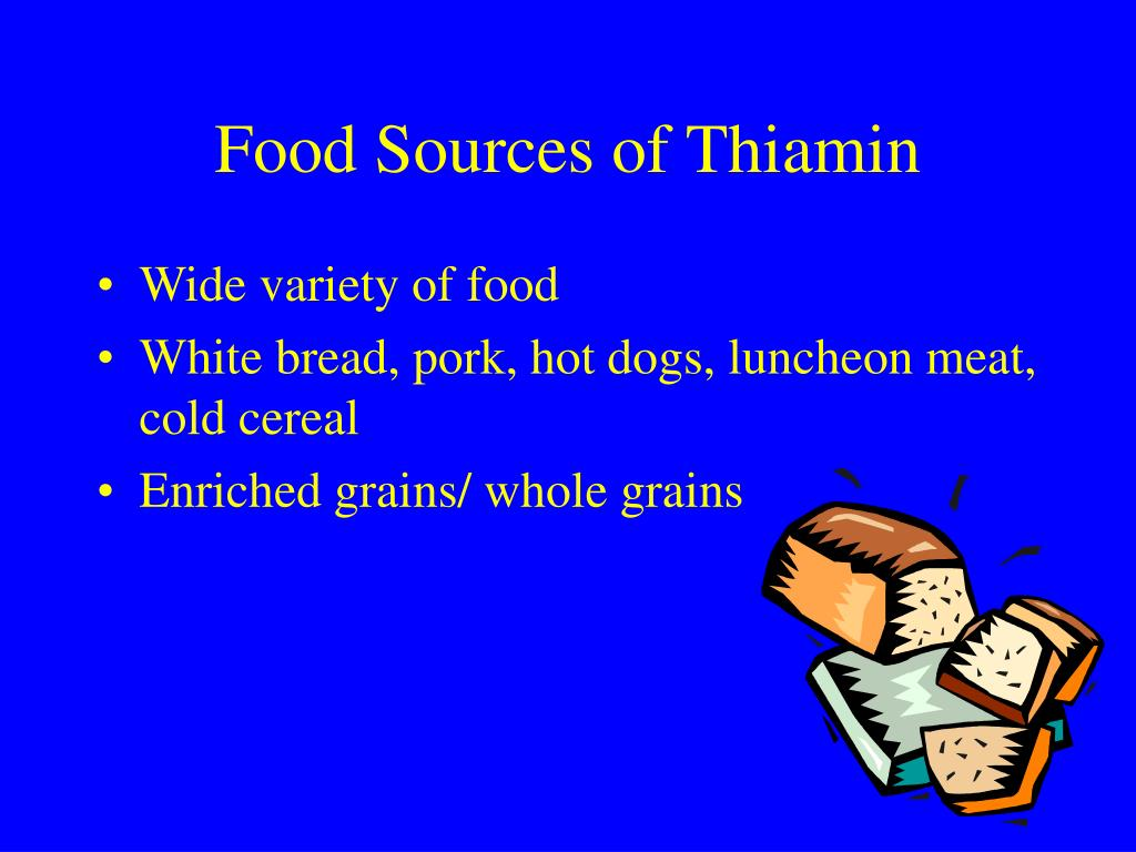 Food Sources of Thiamin