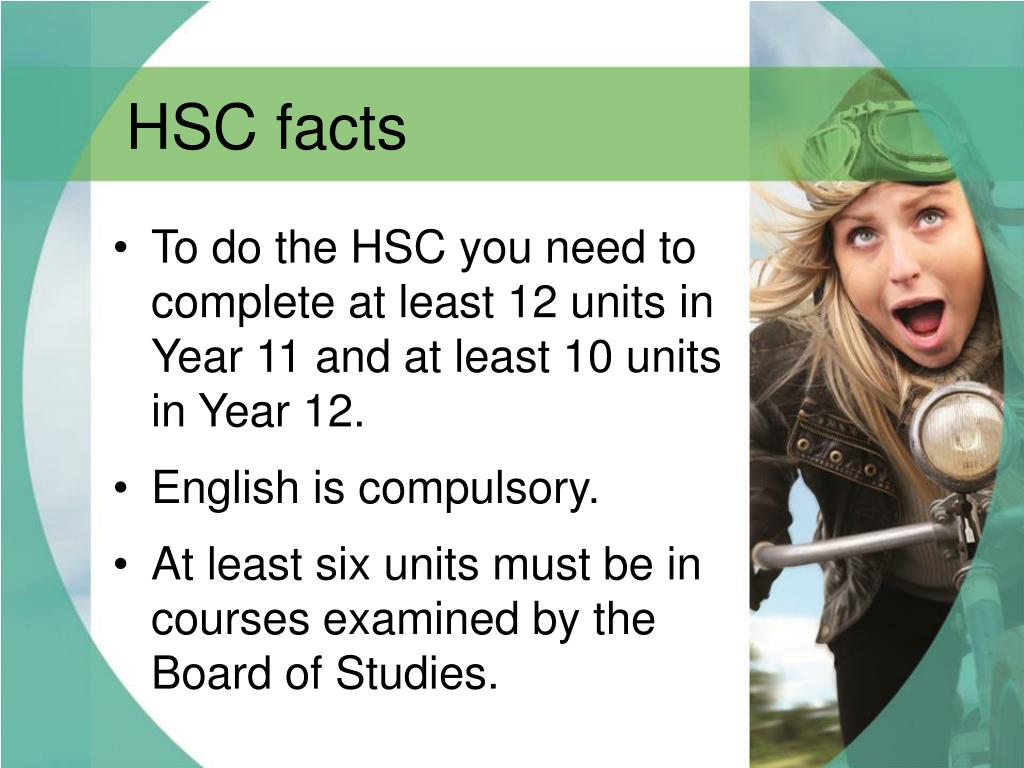 HSC facts