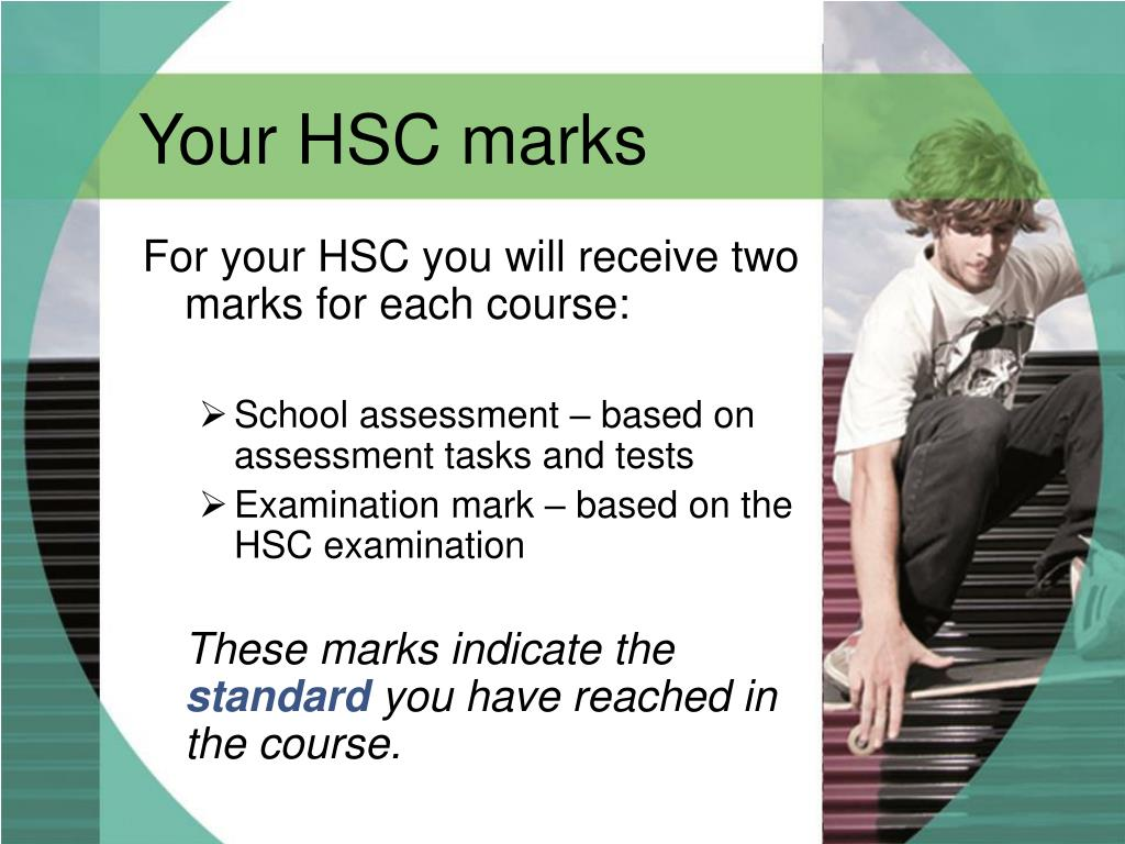Your HSC marks