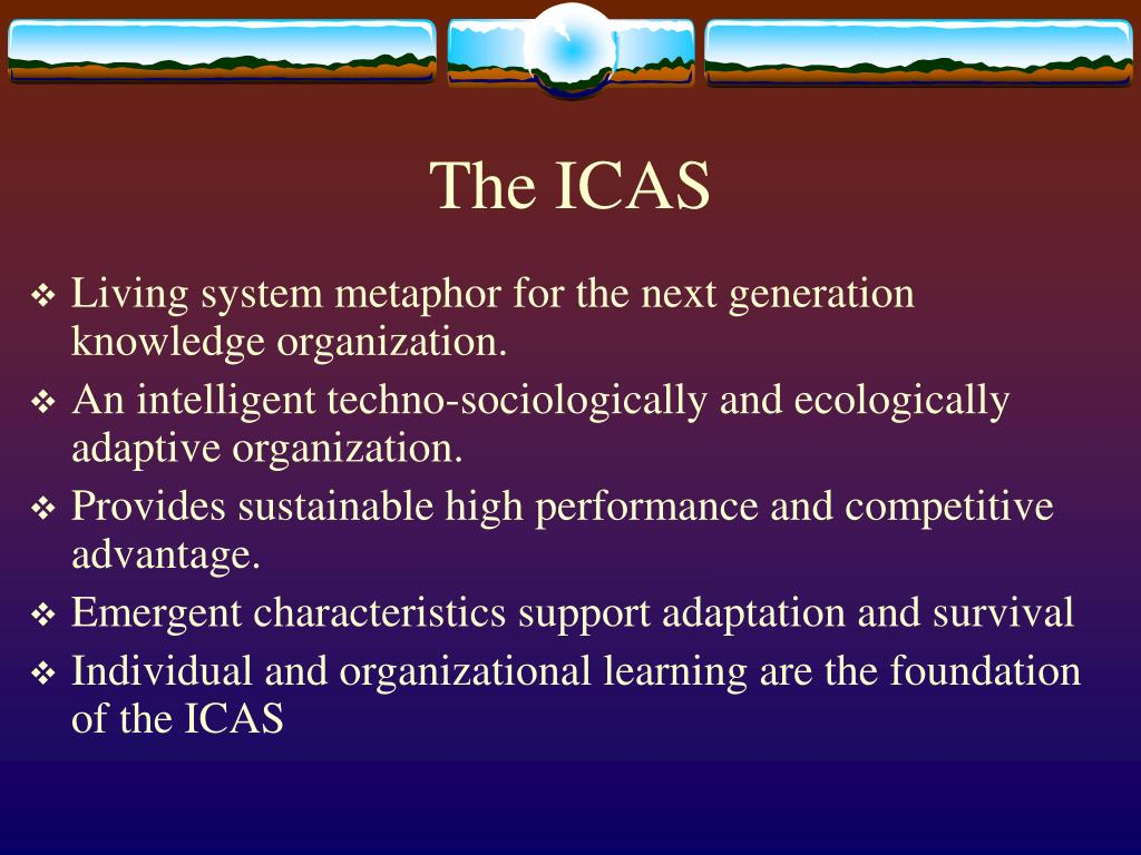 The ICAS