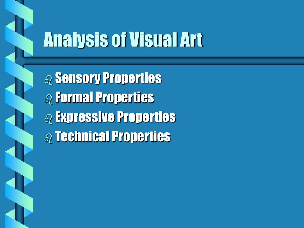 analysis of visual art l.
