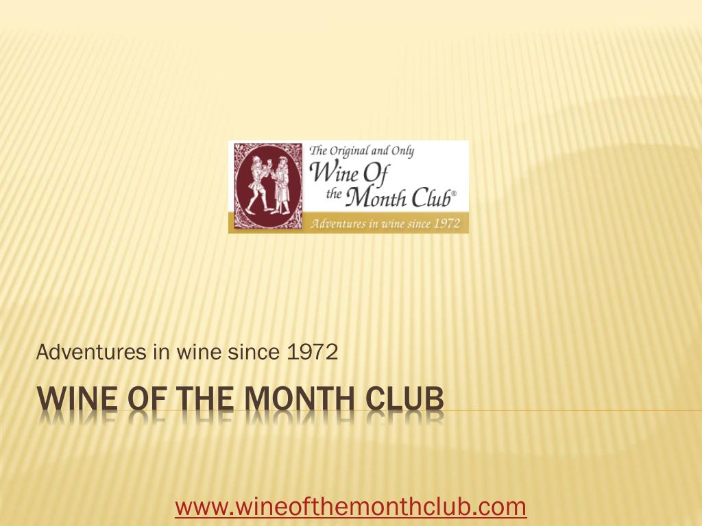 Adventures in wine since 1972