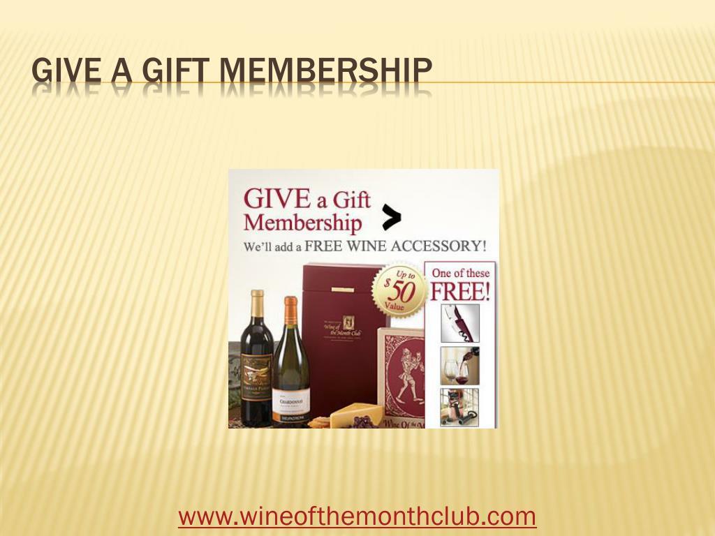 Give a gift membership