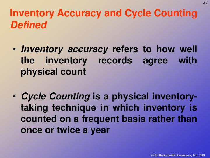 ppt chapter 14 inventory control powerpoint presentation id 377733