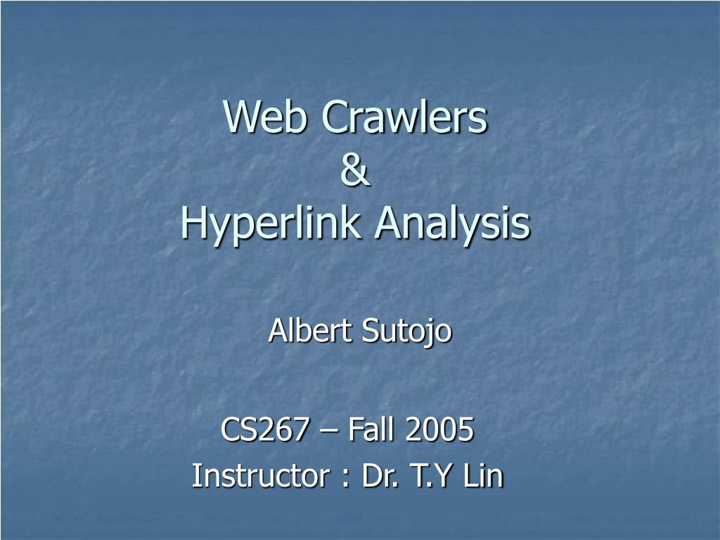 Web Crawlers