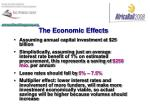 the economic effects