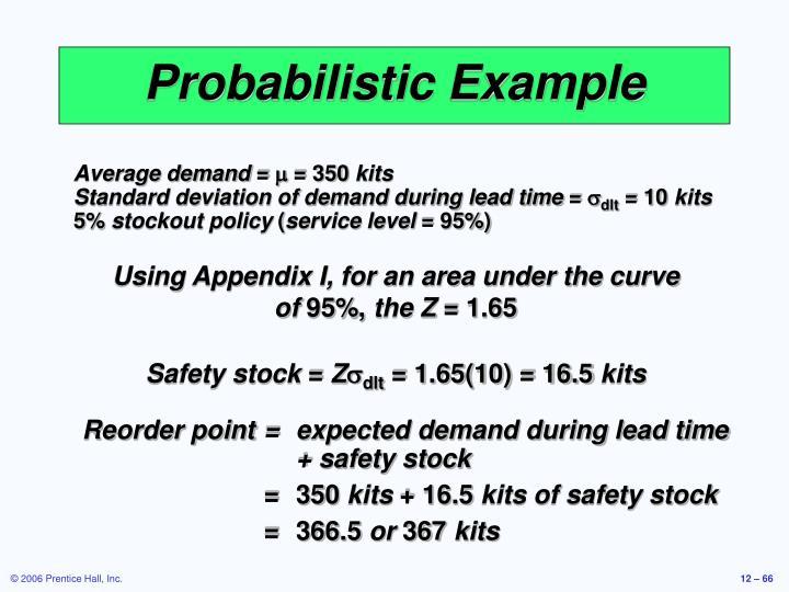 Probabilistic Example