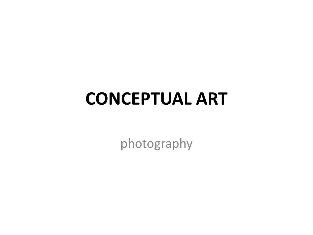conceptual art l.