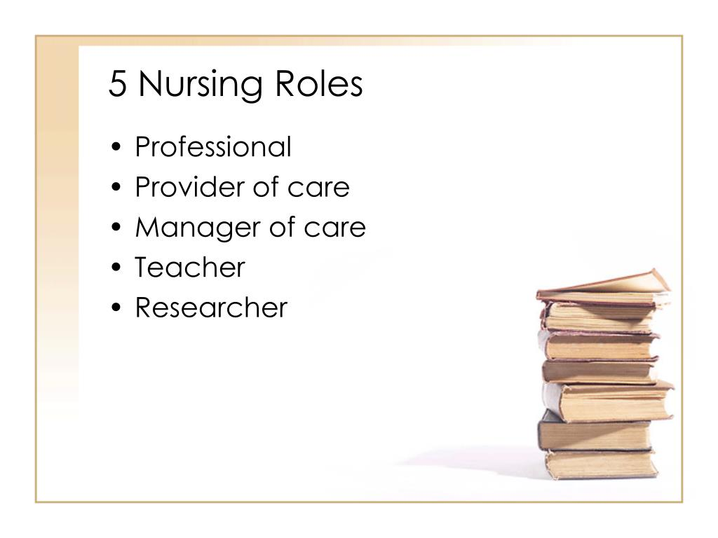 5 Nursing Roles