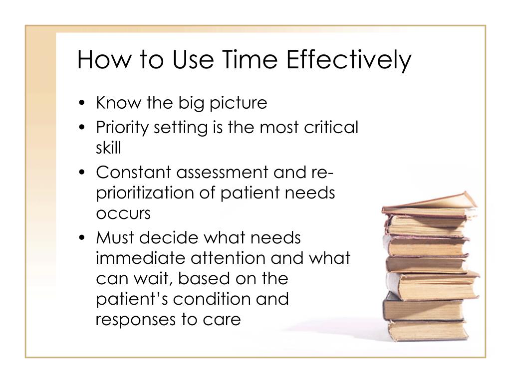How to Use Time Effectively