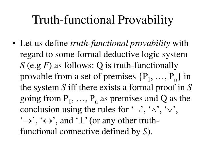 Truth-functional