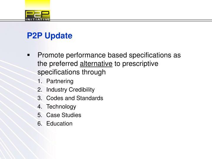 P2p update2