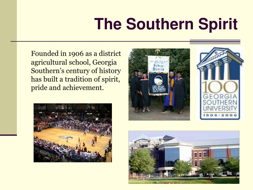 The Southern Spirit